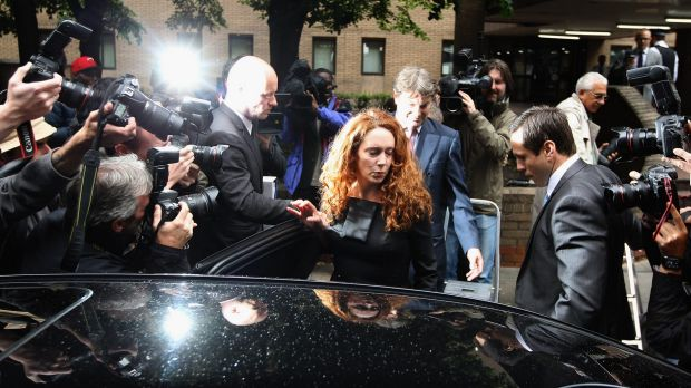 """Boss from hell? News Corp executive Rebekah Brooks was """"occasionally fine""""."""