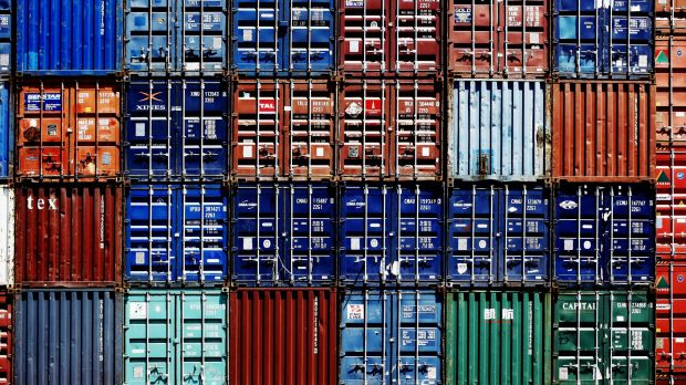 International shipping stays cheap because containers would return empty otherwise.
