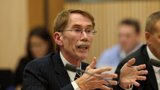 Professor Ian Young, Vice-Chancellor of the ANU, was jeered by angry School of Music students.