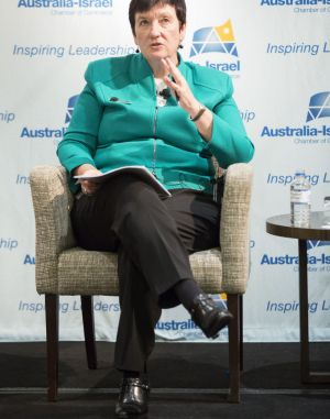 Business Council of Australia chief executive Jennifer Westacott says light rail contract should be respected.