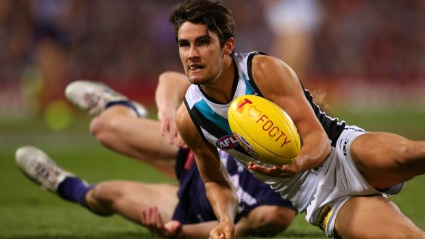 Port Adelaide's Chad Wingard, already the best No.6 of the last 30 years.