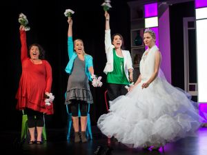 On stage: <i>Mother, Wife and the Complicated Life</i>.
