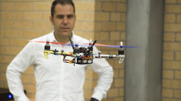 Ilche Vojdanoski has teamed up with Newcastle University's Chris Renton  to form a start-up company called HiveAUV to ...