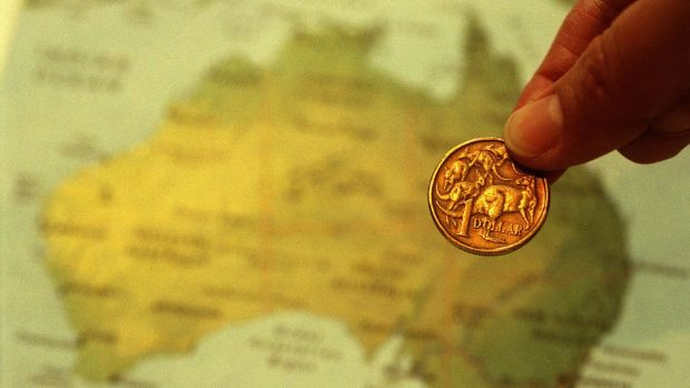 The Australian dollar marched towards US77c overnight.