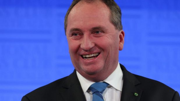 Sixty-four per cent of voters in Agriculture Minister Barnaby Joyce's electorate of New England support extra funding ...