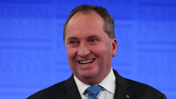 Agriculture Minister Barnaby Joyce has cast doubt over the World Health Organisation report.