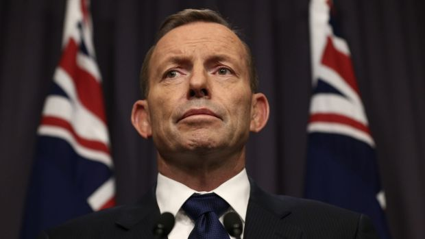 "Prime Minister Tony Abbott promised the decision to take in refugees would reflect ""Australia's proud history as a ..."