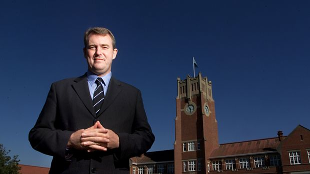 Cranbrook headmaster Nicholas Sampson: wrote to parents.