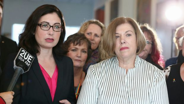 Teresa Gambaro, co-sponsor of the cross-party marriage equality bill with Labor's Terri Butler.
