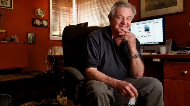 Garry Barker, aka Mac Man, has championed Apple computers for more than 20 years.