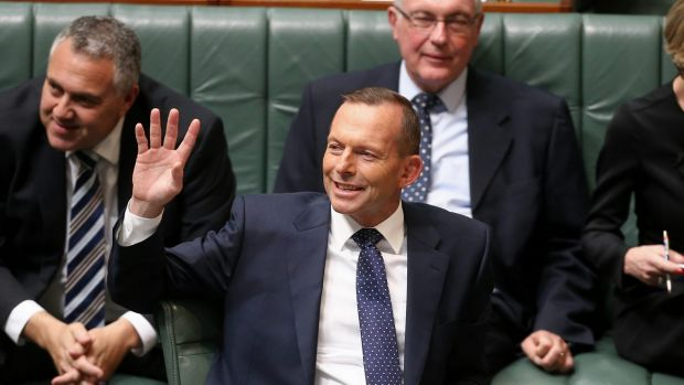 Prime Minister Tony Abbott in question time on Tuesday.