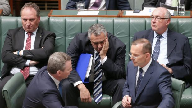 The Abbott government is facing a cumulative $74 billion budget shortfall between now and 2025-26 after failing to win ...