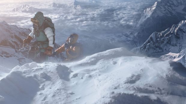 A scene from the film <i>Everest</i>.