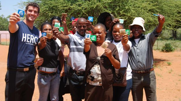 More than 20 per cent of 15 to 49 year olds are HIV positive in Botswana.