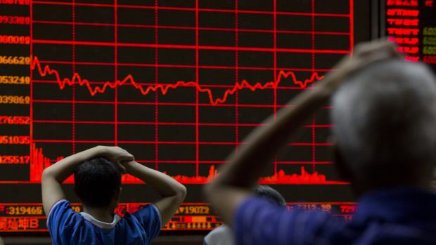 """This is a high-magnitude event for financial markets."": Global shares fell dramatically on Friday."