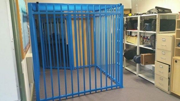 The cage in a Canberra school which led to the independent