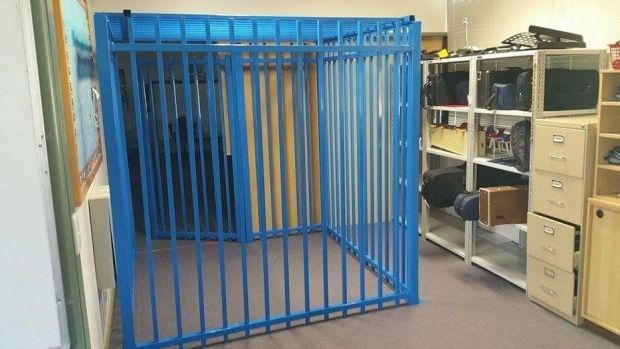 The principal of the Canberra school where a cage was erected for a 10-year-old autistic student has lost her job after ...