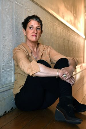 Author Charlotte Wood.