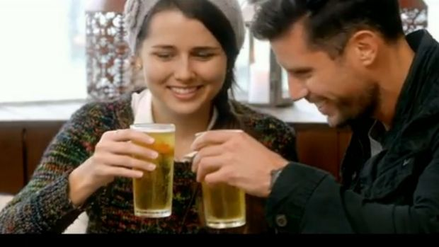 Once the Bachelor frontrunner, Heather is now the girl Sam Wood likes to share beers with.