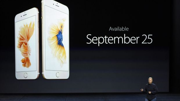 The iPhone 6s and 6s Plus are due in stores shortly.