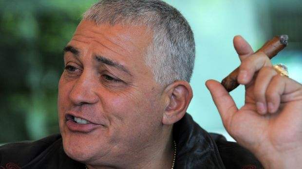 Underworld figure and businessman Mick Gatto.