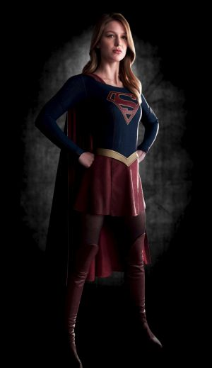 Coming to Foxtel: Melissa Benoist in <i>Supergirl</i>.
