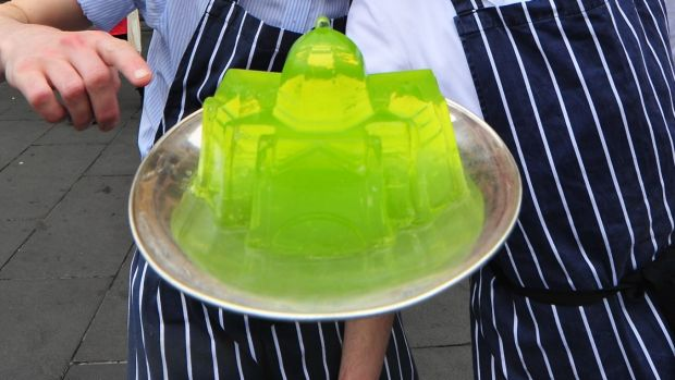 The sharemarket is a bit like a plate of jelly - it can get the wobbles.