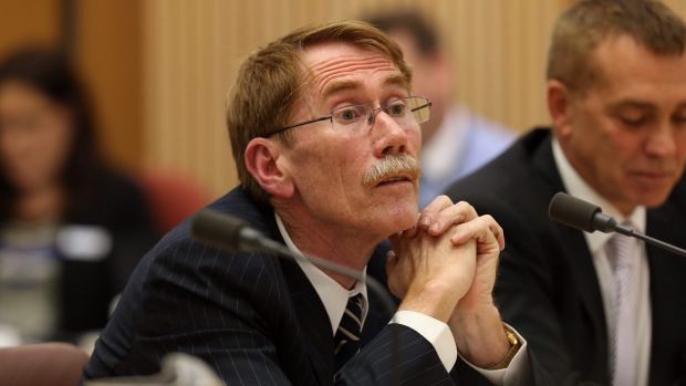 ANU Vice Chancellor Ian Young who carried out savage staff and budget cuts at the School of Music in 2012.