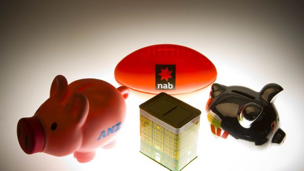 All of the big four banks fell on Monday.