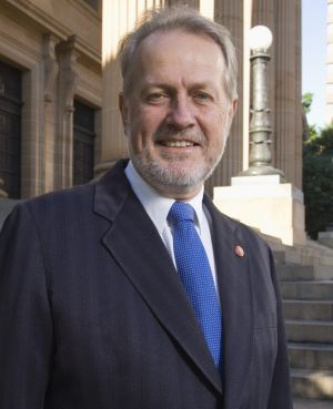 Shooters and Fishers MP Robert Borsak: Counter-accusations have been lodged over his son's role at the United Services Union.