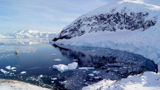 Antarctica waters have a low threshold to start with, before carbon emissions are added.