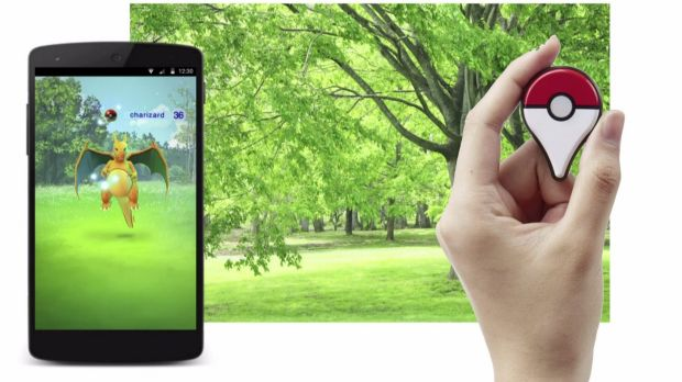 <em>Pokemon Go </em>combines a smartphone app, real-world location data and an optional Bluetooth-connected device.
