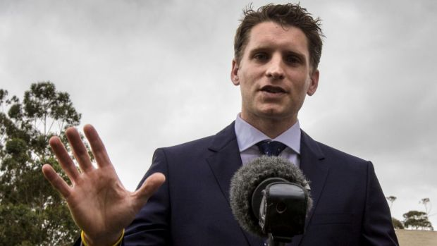 """Look, like many Australians I have a Christian faith, which presupposes the existence of a God"": Andrew Hastie."