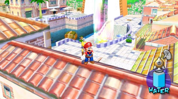 Nintendo's GameCube console gave unprecedented graphical fidelity to Mario's world.