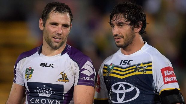 Star power: Smith and Thurston in club colours.