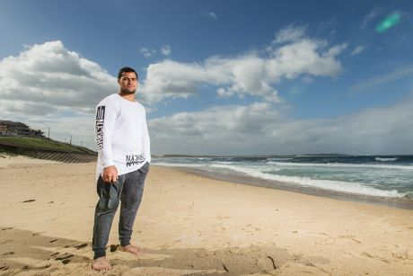 "Cronulla Sharks star Andrew Fifita: ""I was in a deep hole and it was just darkness."""