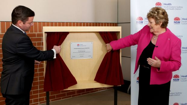 Health Minister Jillian Skinner officially opened the new emergency department at St George Hospital one year ago, but ...