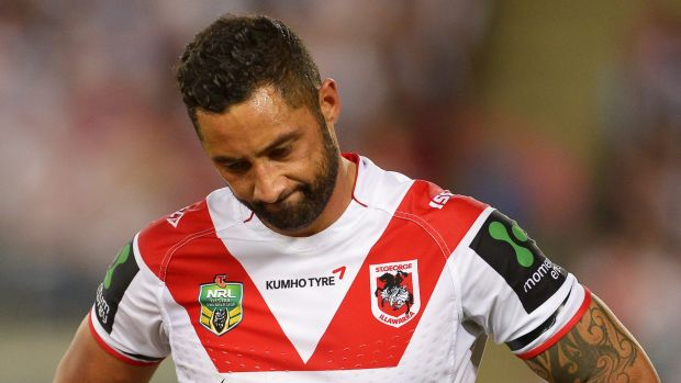 Future unclear: Benji Marshall is none the wiser about his place at the Dragons.