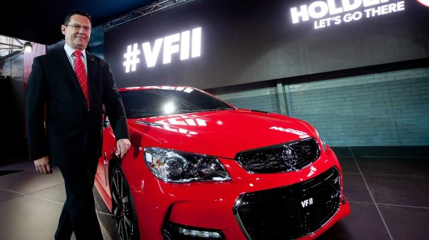 Holden chairman Mark Bernhard says the new VFII Commodore car is the best one yet.