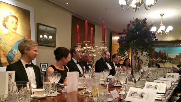 The people who attended the dinner in the private dining room of the President of the Legislative Council.