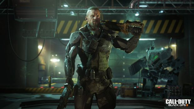 A scene from Call of Duty: Black Ops III.