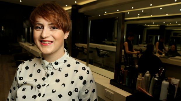 Sonja Connor puts 10 per cent of her wages from hairdressing into her super fund.