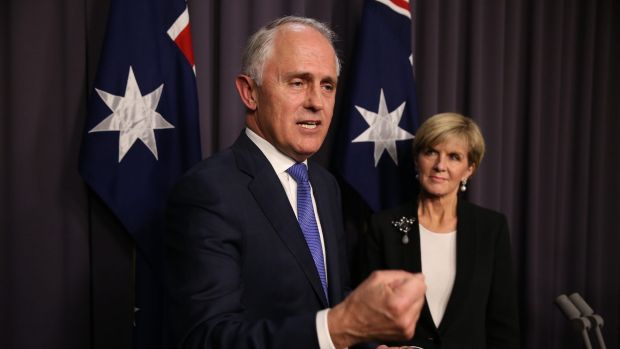 Malcolm Turnbull has put the economy 'front and centre'.