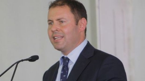 Then-assistant treasurer Josh Frydenberg spoke of 'real concern' that wealthy business owners would be  targeted for ...