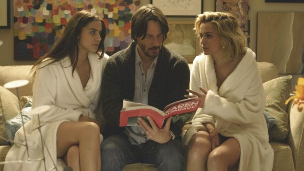 Erotic-horror film <i>Knock Knock</i>, starring Keanu Reeves, will be screened on the closing night of the Sydney ...