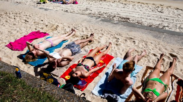 Sydneysiders have been basking in warm weather since the start of September, but that's about to change.