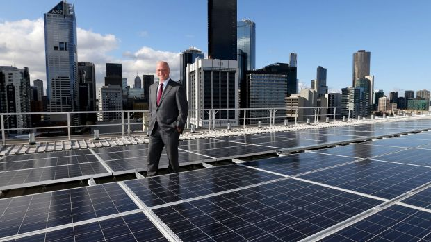 "Transition to ""a carbon constrained future"": AGL chief executive Andy Vesey."