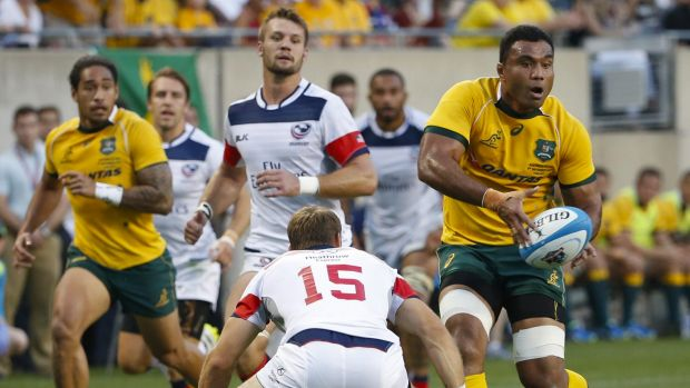 Over and out: Wycliff Palu says he was numb when he realised he'd played his last game for Australia.