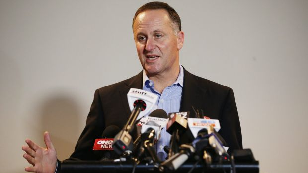 """New Zealand Prime Minister John Key has a """"blunt"""" message for Australia."""