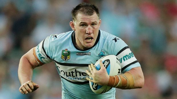 Fighting fit: Paul Gallen.